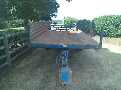 Marston Tipping Trailer for repair or parts