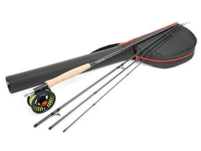 Guideline Kaitum Trout 9ft AFTM #5 #6 Cañas Carrete Combo Pesca con mosca