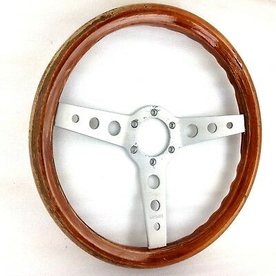 Genuine early Momo Indy 350mm Wood rim steering wheel. Classic 1979 BARGAIN!  7E