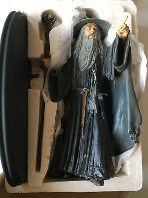 Sideshow Weta Herr der Ringe Gandalf the Grey 1/6 scale Figure TOP Zustand