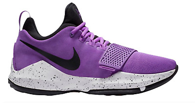 aadcb2522fd Nike PG 1 Paul George Purple Black White Basketball Shoes  13 878627-500  Mens