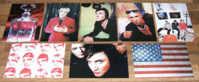 DURAN DURAN Set Of 8 Pop Trash Promotional Postcards GIFT IDEA