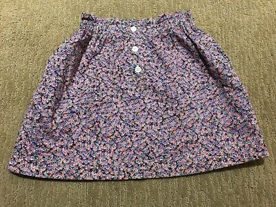 Crewcuts, Fully Lined Skirt With Elastic Waist.  Size 6-7