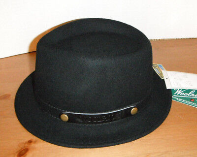 efed43c9ebe9a Woolrich FEDORA HAT 100% Wool felt crushable packable water repellent sz  LARGE