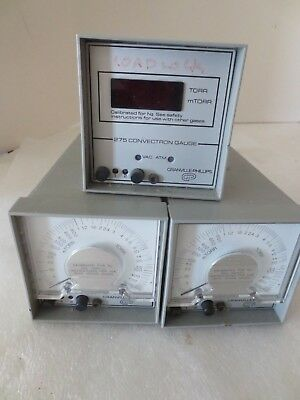 Lot of  Three  Granville-Phillips 275 Convectron Gauges