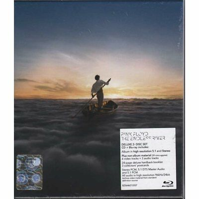 Pink Floyd Cof. BRD CD The Endless River New Sealed 0825646213337