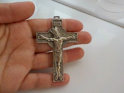 Very Old Crucifix Pendant Metal Detecting Find