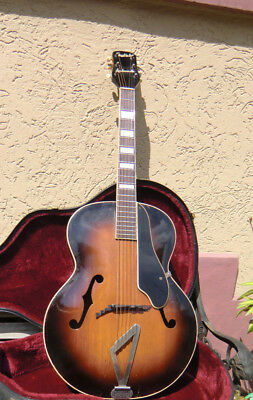 Gretsch Synchromatic Hollow Body Archtop Guitar  built in 1952