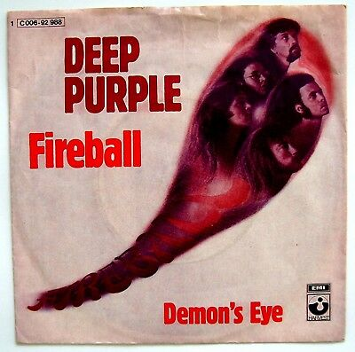 Deep Purple - Fireball - Vinyl Single 7""