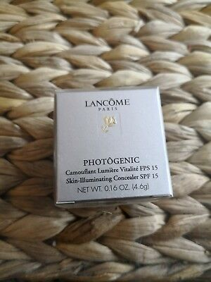 Lancome PHOTOGENIC Skin-Illuminating Concealer SPF 15 Neu und OVP 4,6 gr