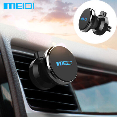 MEIDI Universal Magnetic Phone Holder Air Vent Mount  For Car Various Colour