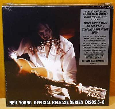 YOUNG, NEIL Official Release Series 5-8 Limited Edition 4LP Box Set RSD 2014