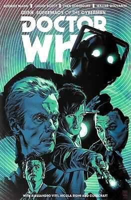 Doctor Who - Supremacy Of The Cybermen TPB Graphic Novel Forbidden Planet Cover