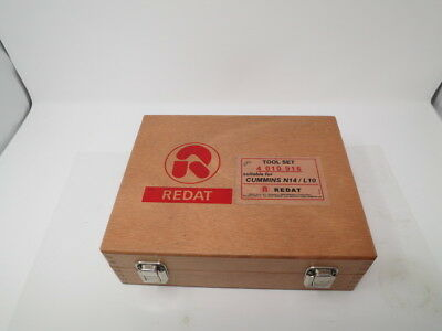 REDAT Cummins N14 M11 L10 injector disassembly & tip tester tool kit