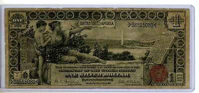 1896 $1 Silver Certificate EDUCATIONAL NOTE Large Size