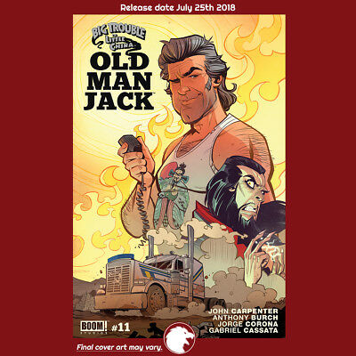BIG TROUBLE IN LITTLE CHINA OLD MAN JACK #11 1st Print (WK30.18) (CA) Parson