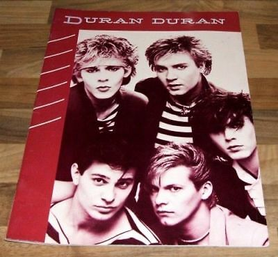 DURAN DURAN Song And Sheet Music Book - Rio Album