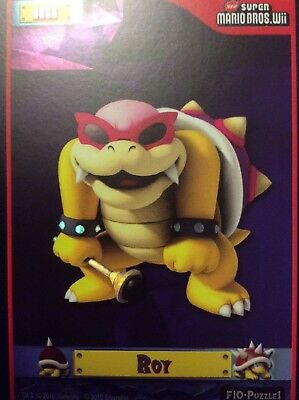 2010 Super Mario Brothers Roy Trading Card F-10 Puzzle 1