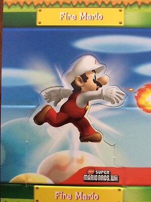 2010 SUPER MARIO BROTHERS FIRE MARIO POP UP S8 of 10