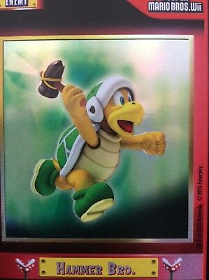 2010 Super Mario Brothers Hammer Bro Trading Card F18 Puzzle 2