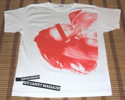DURAN DURAN Red Carpet Massacre 2007 (XL) Concert T Shirt Official Merch GIFT