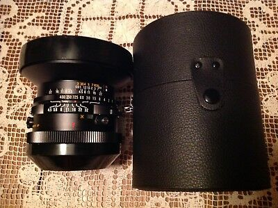 MAMIYA-SEKOR C 37mm f/4.5 Fisheye Lens with Case EXC+