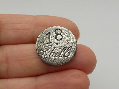 Interesting Old Coin - Token 18 Shill Metal Detecting Find