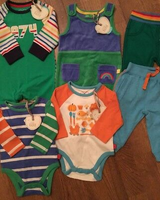 Little Bird By Jools Oliver Boys All In One, Bodysuits, Dungarees, Joggers 0-3