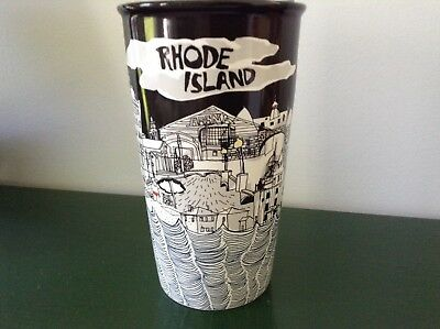 Starbucks Been There 12oz Rhode Island Ceramic Tumbler