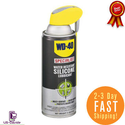 WD-40 300014 Specialist Water Resistant Silicone Lubricant Spray 11 OZ free ship