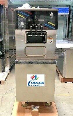NEW Commercial Ice Cream Soft Serve Frozen Yogurt Machine Model DW138ETC (NSF)