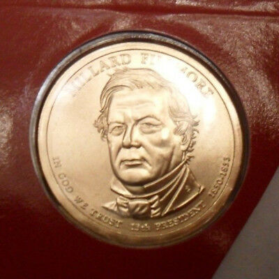 2010 D Millard Fillmore Presidential Dollar  *MINT CELLO*  **FREE SHIPPING