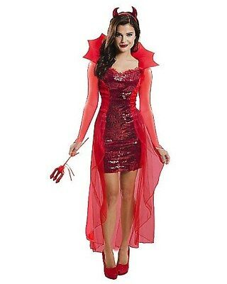 Red Hot Devil women used halloween costumes
