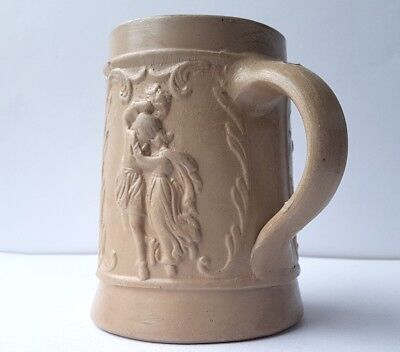 Claw, Ceramics Mug, Relief-Dekor, Galante Scenes, around 1880 K946