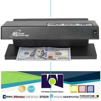 Ultraviolet Counterfeit Detector - Supports NEW US$100 Notes RCD-1000