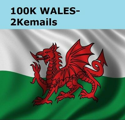 WALES Business Directory (100K) B2B Mailing Email Database List Marketing