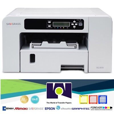 Sawgrass SG400 Virtuoso Printer +SET CMYK INK, FREE Design Studio, FREE Shipping