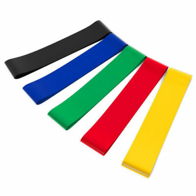 Latex Resistance Yoga Band Elastic Muscle Fitness Training Pilates Trainers Gear