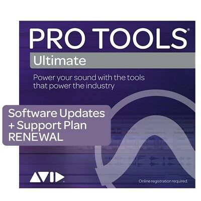 Avid Pro Tools Ultimate 1-Year Software Update + Support Plan Renewal eDelivery