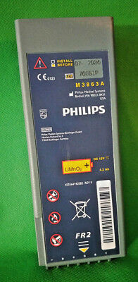Philips Heartstart FR2 FR2 AED Battery M3863A - Install by 07-2024