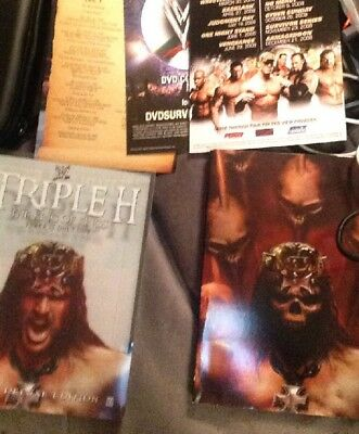 WWE - Triple H: The King of Kings (DVD, 2008, 2-Disc Set) Complete WWF
