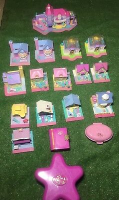 Polly Pocket vintage Lot of 18 pieces