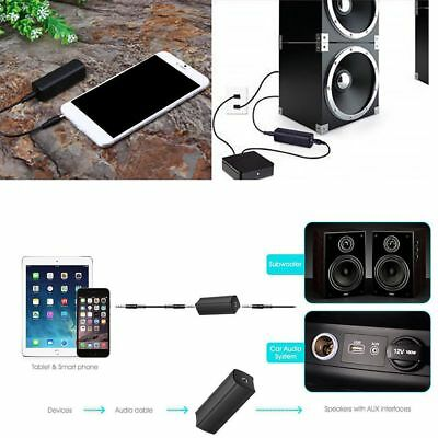 3.5mm Aux Noise Filter Ground Loop Isolator Earth-loop Remove Audio System Noise