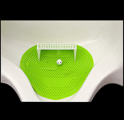 Bathroom Football Shoot Style Urinal Screen tulip Fragrance Scent Mat 10 Pack