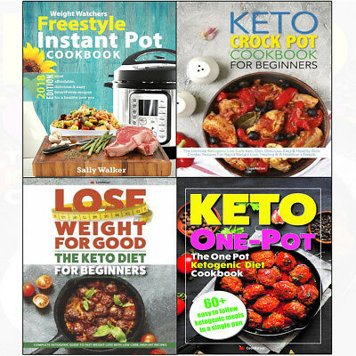 Weight Watchers Instant Pot 2018 Freestyle Cookbook 4Books collection set NEW UK