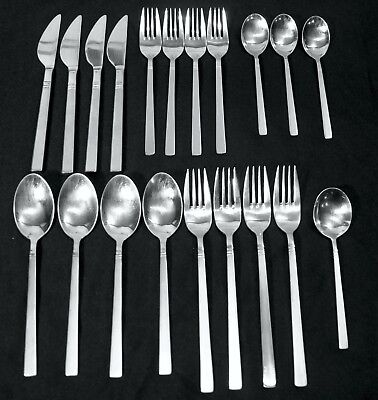 Oneida 18/10 Indonesia Forks Knives Spoons 20pc Mixed lot