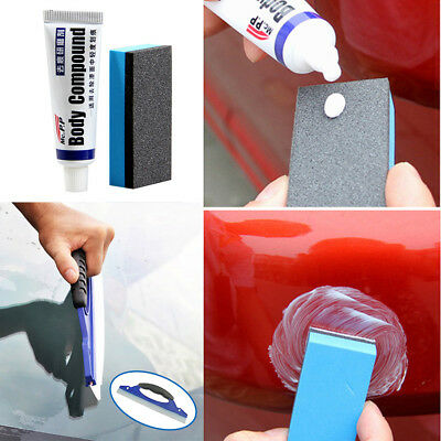 Car Polishing Wax Repair Paint Care Scratching with Water Board Washing kit 2set