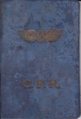 Extremely rare ANTIQUE Romanian Railways CFR ID Card Class 2 1932