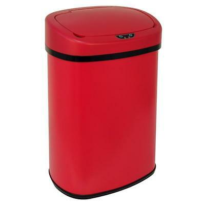 New 13-Gallon Touch Free Sensor Automatic Touchless Trash Can Kitchen Office den
