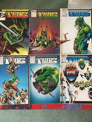 Nemesis The Warlock 2000ad Quality Comics Numbers 1-8 Limited Editions very rare